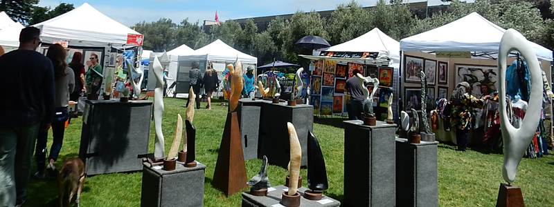 los altos rotary  fine art in the park